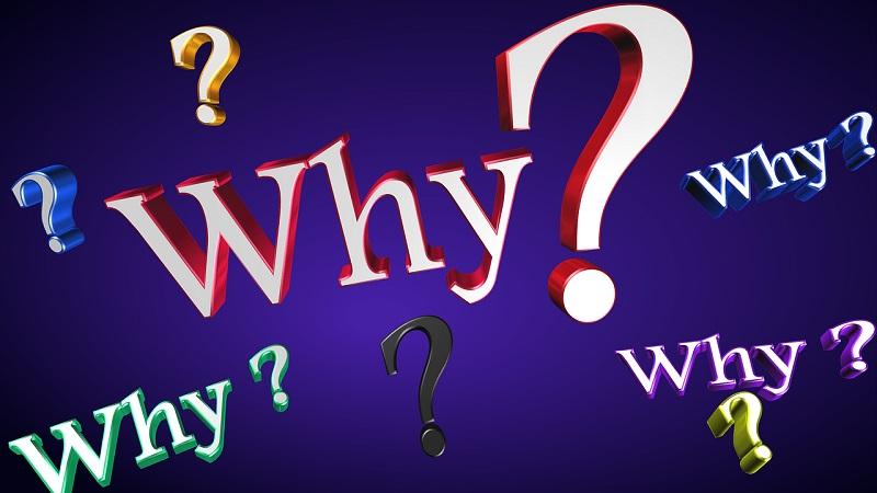 英語でなぜ?という文字